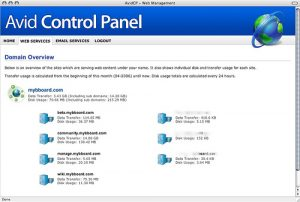 AvidCP screenshot